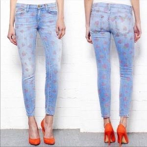 Current/Elliott Vintage Strawberry Stiletto Jeans